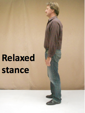 Relaxed stance