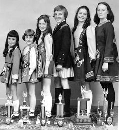 young irish step dancers 1970s